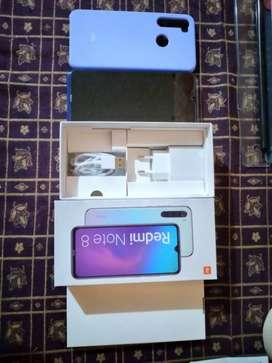 Xiaomi redmi note 8 nuevo 10/10