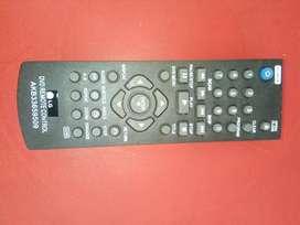 Control remoto DVD LG con usb