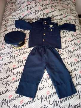 Disfraz policia americano