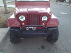Paragolpe Delantero Jeep