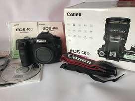 Canon 40D Como nueva