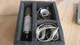 Vendo Micrófono condensador Hapa