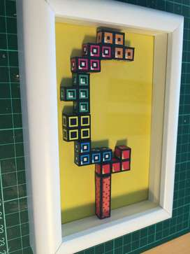 dioramas tetris
