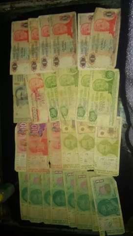 Lote de 26 billetes