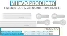 LISTON LED BAJO ALACENA INTERCONECTABLE 220V