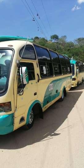 se vende buseta de transporte publico marca chevrolet