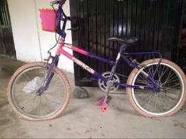 bicicleta monareta, todoterreno para niña