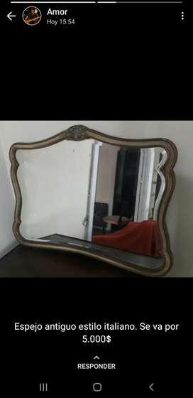 Espejo antiguo estilo italiano