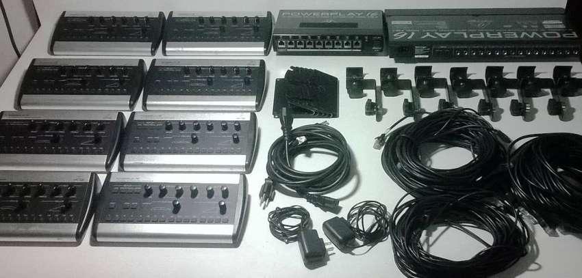 Behringer Powerplay 16 Sistema Completo Para 8 Musicos