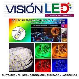Cinta Luz Led Unicolor 5050 24v Voltios 5mt Camiones Tuning