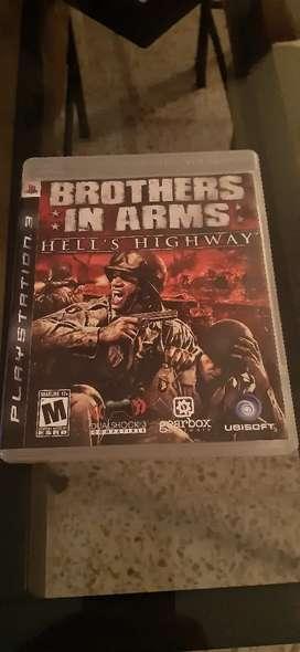 Ps3 vendo juegos brothers in arms