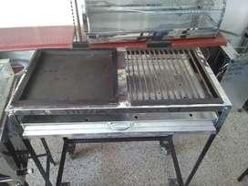 Set de Plancha y Asador a carbón NUEVA GRATIS Transporte