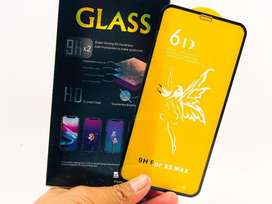 Vidrio Templado Iphone Cover Full Cover X Xs Max Xr 5d 6d Curvo