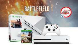 Xbox One S Nuevo 500gb Battlefiel Extra Juego Envio Gratis