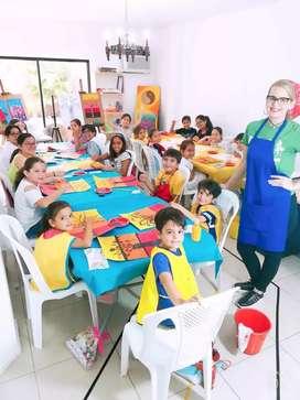 """Vacacional de Arte (dibujo y pintura) """"Sueños de colores"""""""
