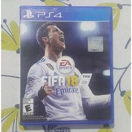 Vendo / Cambio Fifa 18 PS4
