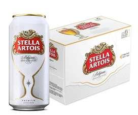 Stella Artois Lata 473ml Six Pack