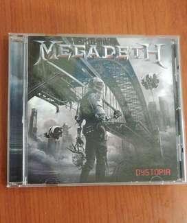 Cd Megadeth Distopia 10/10