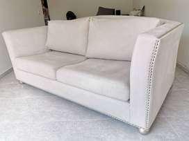 Sofa Diseñador Economico Tres Puestos Comodo