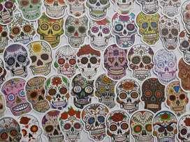 Calcomanìas - Stickers  Calaveras