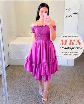 vestido de gala juvenil