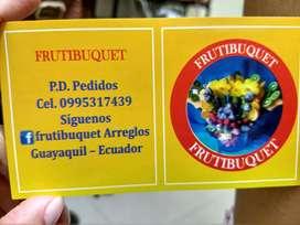 Arreglos Frutas comestibles a domicilio