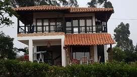 Cabaña -hermosa Vista Al Lago Acuarela