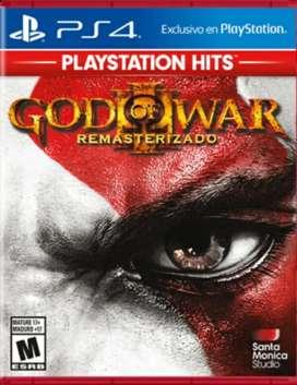 juegos god of war 3 remastered PS4