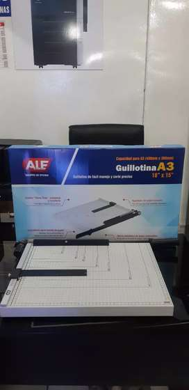 Venta de guillotina a3