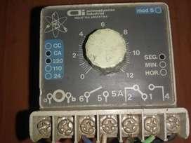 Temporizador en segundos,regulable,marca A.i