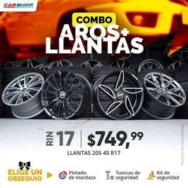 PROMOCIÓN AROS Y LLANTAS RIN 17 AUTO