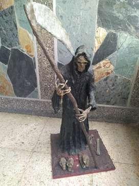 Escultura de la muerte