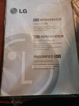 REFRIGERADORA SIDE BY SIDE LG