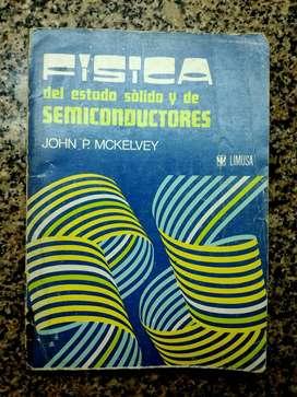 Fisica del Estado Sólido y Semiconductores - McKelvey - Limusa