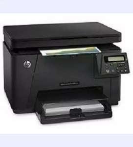 Impresora multifuncional laser hp m176n