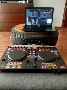 Controlador Consola Mezcladora DJ Behringer CMD Studio 4A