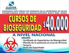 CURSO DE BIOSEGURIDAD EN BELLEZA (BARBEROS - ESTILISTAS - TATUADORES - MANICURISTAS)