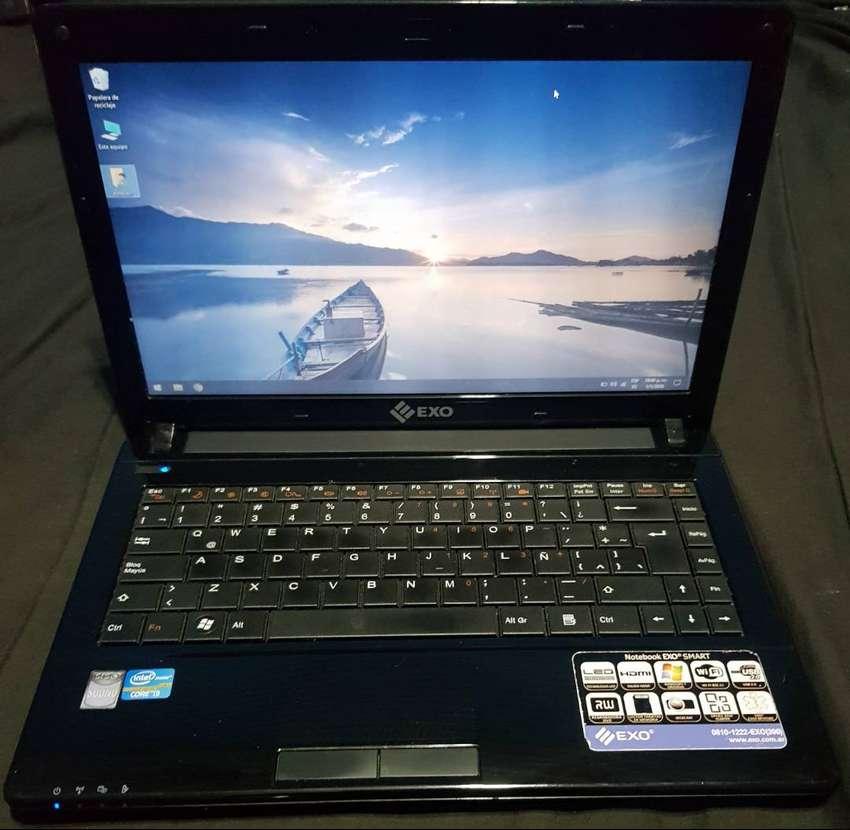 Notebook EXO Intel core I3 - Como NUEVA - Garantia - Envio gratis - Cuotas 0