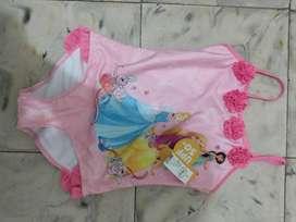 Vestido de Baño Nuevo Talla 10 para Niña
