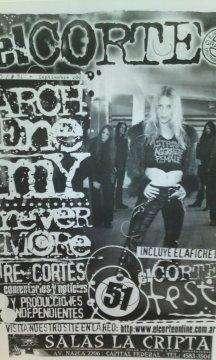 Fanzine El Corte nro.51 setiembre de 2003