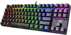 PICTEK TKL Teclado Mecánico Retroiluminado, RGB Led