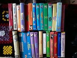 Coleccion de VHS infantiles