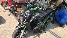 biwis 2013 repotenciada 160 cc modificada partes racing