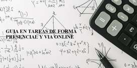 Tutor de Física Y Matemáticas (Guia en tareas de forma presencial y online)
