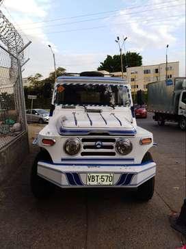 vehiculo campero de servicio publico