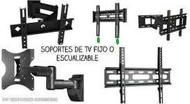 Soportes doble brazo para TV instalacion inmediata.