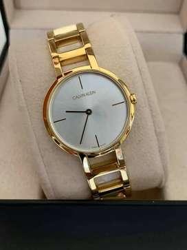 Reloj Calvin Klein Ref K8N235 para dama nuevo