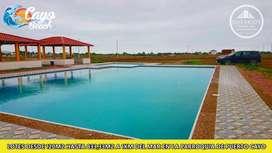 Terreno en venta en Puerto Cayo Manabi  180 m2 a 5400