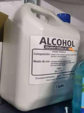 ALCOHOL DE USO GENERAL AL 70%
