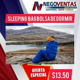 SLEEPING BAG CAMPING BOLSA PARA DORMIR